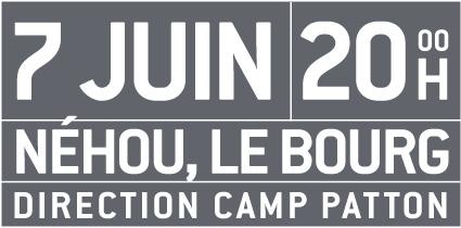 7. Juni PATTON HOUSE, Néhou, Le Bourg um 20:00 Uhr